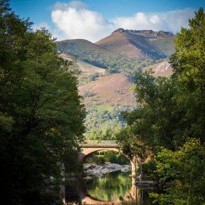 Pont sur la rivière de Saint-Martin d'Arrossa