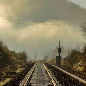 Chemin de fer après travaux St Martin d'Arrossa