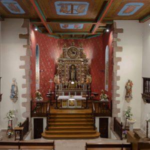 Intérieur de l'Église de Saint-Martin d'Arrossa